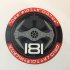 181st Imperial Fighter Wing Patch Coaster image