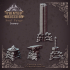 Celestial Soul Forge - Heaven hath no fury - Scenery - 32 mm scale [Pre-supported] image