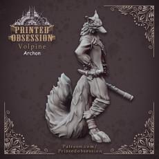 Volpine Archon - Fox Trickster - Heaven Hath No Fury - 32mm scale [Pre-supported]