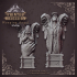 Weeping Angel Statues - Scenery - heaven hath no fury - 32 mm scale [Pre-supported] image