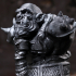 Orc Warrior (support free bust figure) image