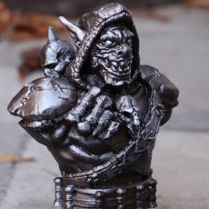 Goblin Warrior (support free bust figure)