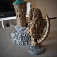 Picture of print of Succubus bust (support free)