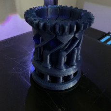 Picture of print of Mechanical Rook Box