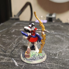 Picture of print of Pale Huntress - Celestial - Heaven Hath no Fury - 32 mm