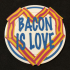 Bacon Is Love Coaster image