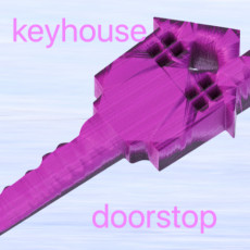 Keyhouse Doorstop