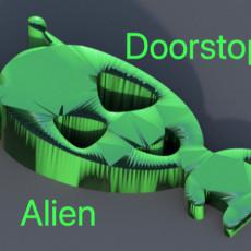 Alien doorstopper