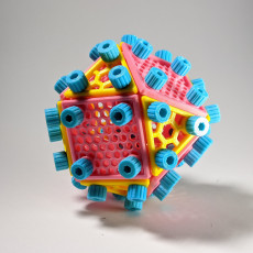 Bolted Cuboctahedron