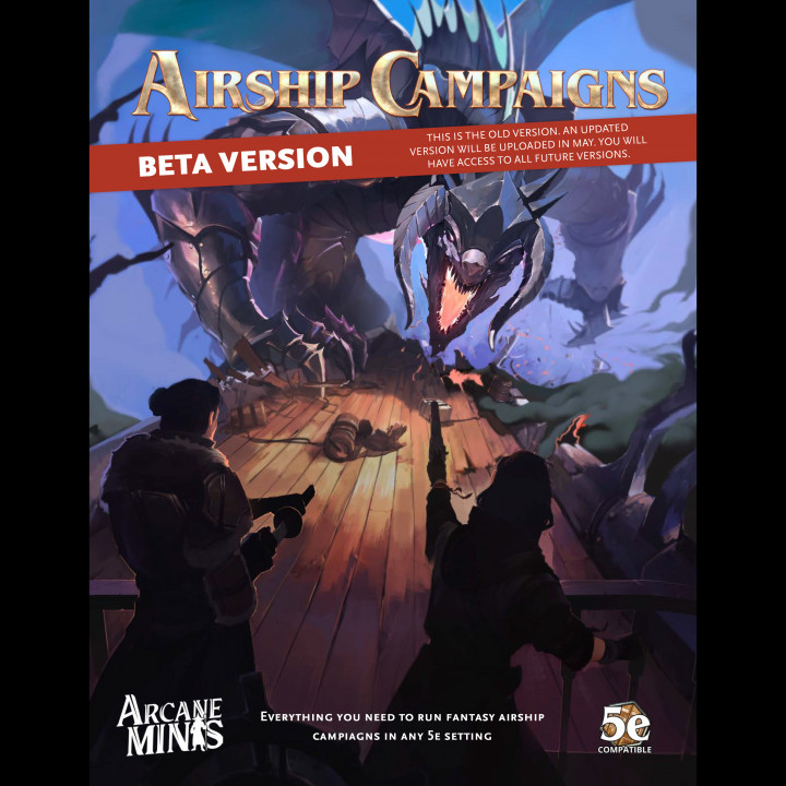 Airship Campaigns - PDF's Cover