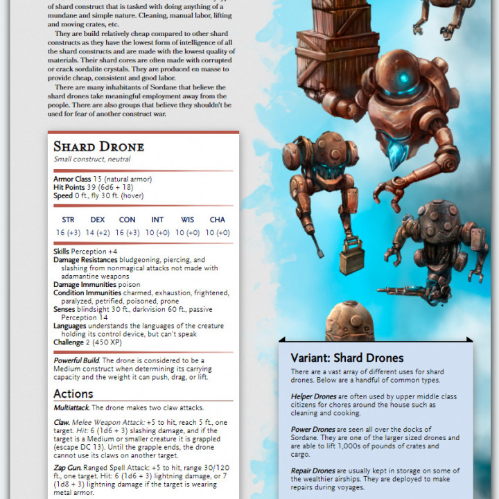 5e Rules Guide PDF Supplement