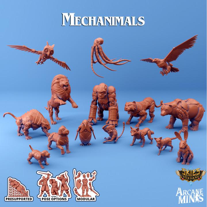 Mechanimals's Cover