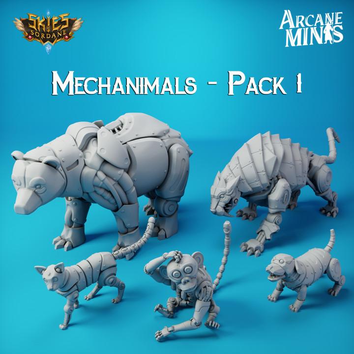 Mechanimals - Addon's Cover