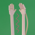 Scritcher // Print in Place Tiny Hands! image