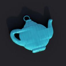 Earrings ' teapot'