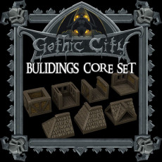 Gothic City: Buildings Core Set (MONSTER MINIATURES II KICKSTARTER IS NOW LIVE)