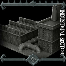 Gothic City: Industrial Sector (MONSTER MINIATURES II KICKSTARTER IS NOW LIVE)