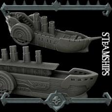 Gothic City: Steamships (MONSTER MINIATURES II KICKSTARTER IS NOW LIVE)