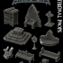 Gothic City: Cathedral Props (MONSTER MINIATURES II KICKSTARTER IS NOW LIVE) image