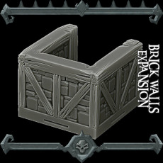 Gothic City: Brick Walls Expansion (MONSTER MINIATURES II KICKSTARTER IS NOW LIVE)