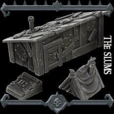 Gothic City: The Slums (MONSTER MINIATURES II KICKSTARTER IS NOW LIVE)
