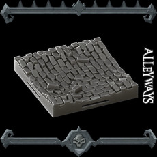 Gothic City: Alleyways (MONSTER MINIATURES II KICKSTARTER IS NOW LIVE)