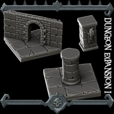 Gothic City: Dungeon Expansion I (MONSTER MINIATURES II KICKSTARTER IS NOW LIVE)