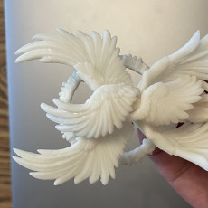 Picture of print of Seraphim - Archangel - Heaven Hath No Fury - 32 mm scale [Pre-supported]