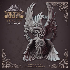 Seraphim - Archangel - Heaven Hath No Fury - 32 mm scale [Pre-supported]