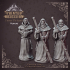 Heaven Hath No Fury - Pack 2 - 32 mmm scale miniatures [Pre-supported] image