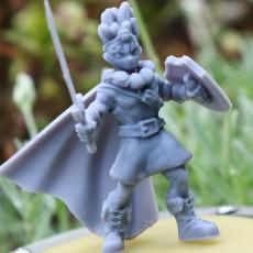Erdrick from  Dragon Quest  (miniature)