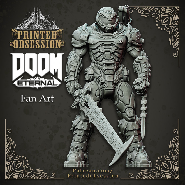 Doom Guy - Doom Eternal - 30cm Model