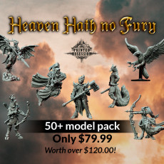 Heaven & Hell Hath No Fury, Pre-supported