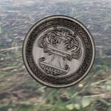 Celtic tree of life drink-coaster v3