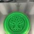 Celtic tree of life drink-coaster v3 image