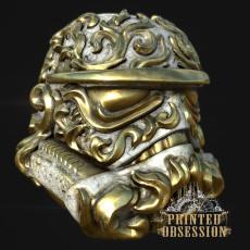 Rococo Scroll Trooper Helm