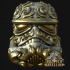 Rococo Scroll Trooper Helm image