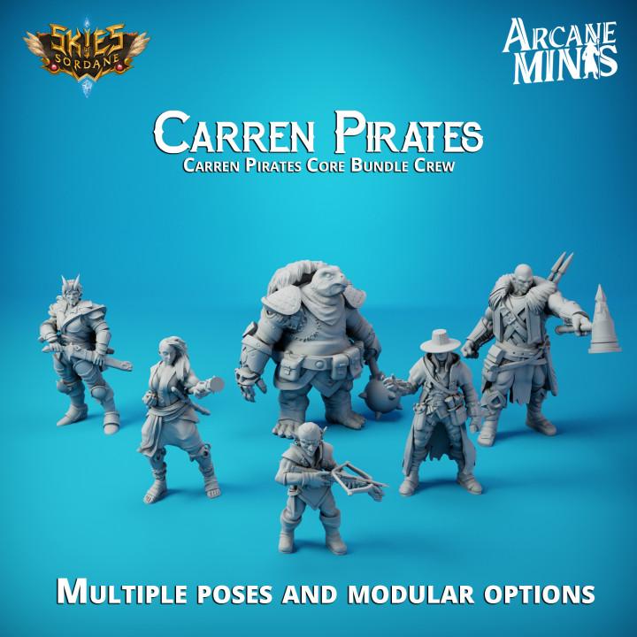 Carren Pirates - Core Crew's Cover