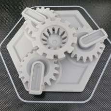 Picture of print of Machine Canister - Two-Part Version