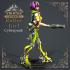 Roller Girl - Cyberpunk - 150 mm model image
