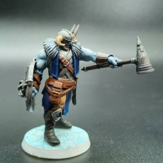 Picture of print of Titaran Barbarian - Carren Pirates