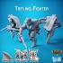 Tiefling Fighter - Carren Pirates image