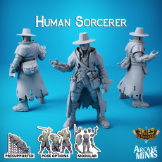 Human Sorcerer - Carren Pirates