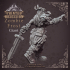 Zombie Frost Giant - Giant - 32 mm scale miniature image