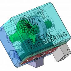 Filament Progression and Runout sensor (Optical Endstop and Encoder Wheel)
