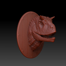 Dragon head hunting trophies. Ancient Dragon.