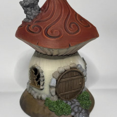 Picture of print of Shroom Hut