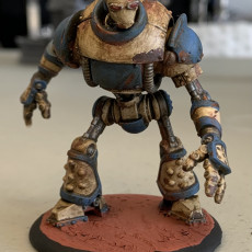 Picture of print of Iron Golem