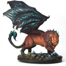 Picture of print of Manticore - Tabletop Miniature