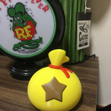 Picture of print of Bell Bag Piggy Bank (ACNH)